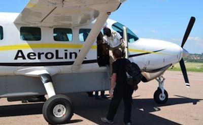 Aerolink Fly Direct Kisoro Bwindi Forest Track Gorillas-Uganda