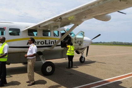 Aerolink Fly Direct Kisoro Bwindi Forest Track Gorillas Uganda
